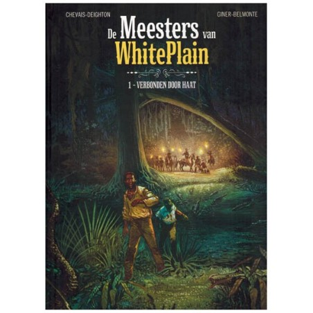 Meesters van Whiteplain set HC deel 1 & 2