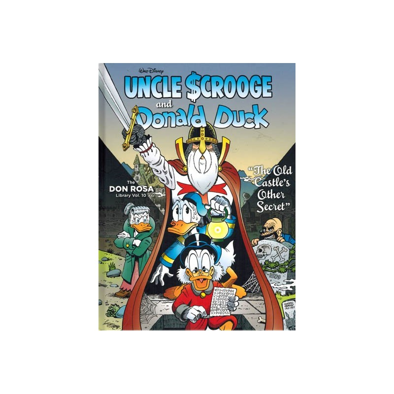 Don Rosa Library 10 HC Uncle Scrooge and Donald Duck The old castle's other secret