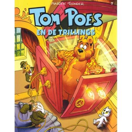 Tom Poes  ballonstrip HC C07 De trillings