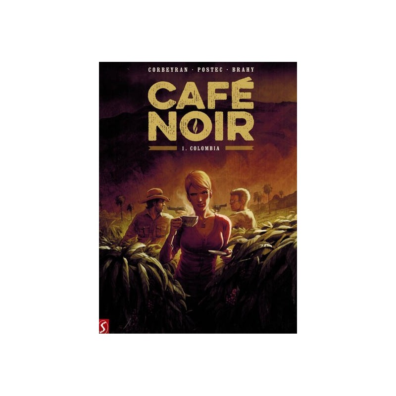 Cafe Noir HC set deel 1 t/m 3