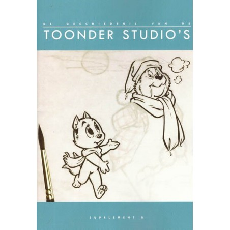 Toonder  De geschiedenis van de Toonder Studio's set Supplement A+B