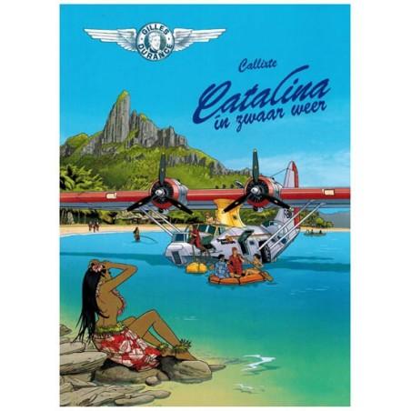 Gilles Durance 02 Catalina in zwaar weer