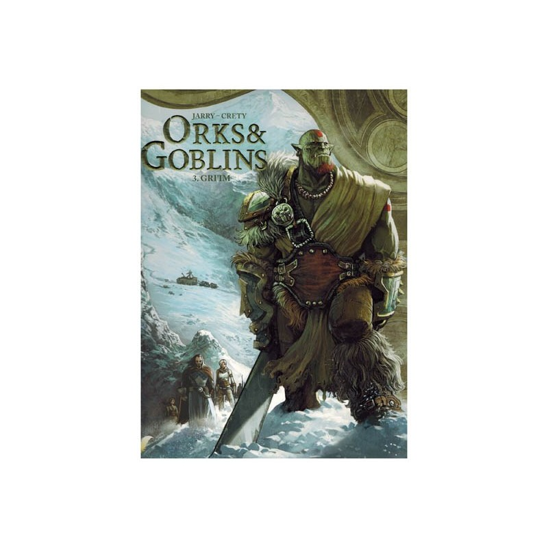 Orks & goblins HC 03 Gri'im
