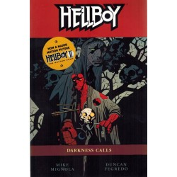 Hellboy TP 08 Darkness calls first printing 2008