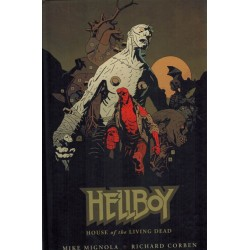 Hellboy TP HC House of the living dead first printing 2011