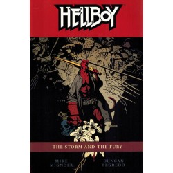 Hellboy TP 12 The storm and the fury first printing 2012