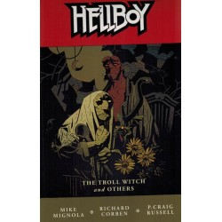 Hellboy TP 07 The troll witch and others first printing 2007