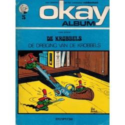 Okay album 05 De Krobbels De dreiging van de Krobbels 1e druk 1972
