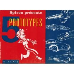 Robbedoes speldjes 5 Prototypes [5 speldjes in doosje] 1e druk 1992