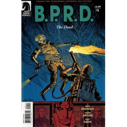 BPRD The dead 1 & 2 first printing 2004