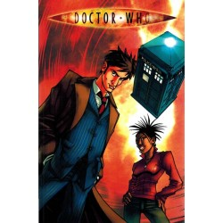 Doctor Who Agent provocateur (Tenth Doctor) first printing 2008