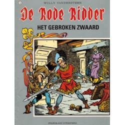 Rode Ridder Kleur 001 Het gebroken zwaard herdruk