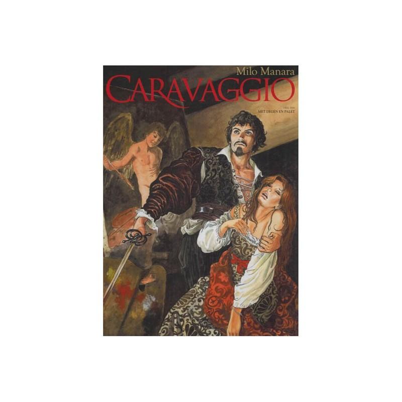 Caravaggio 01 HC Met degen en palet