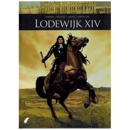Zij schreven geschiedenis  set HC Lodewijk XIV deel 1 & 2