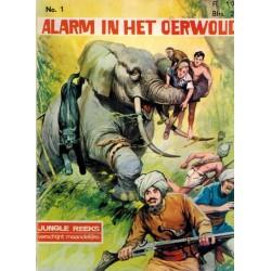 Alarm in het oerwoud 01 (Junglereeks 1) 1e druk 1967