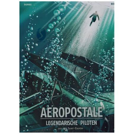 Aeropostale Legendarische piloten HC 04 Saint-Exupery