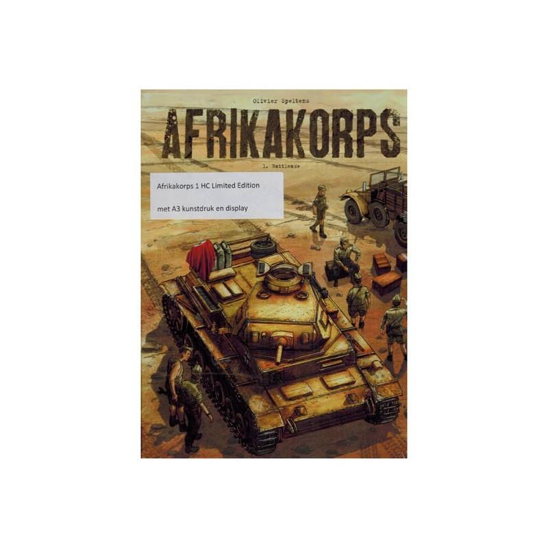 Afrikakorps 01 luxe HC Battleaxe (met display)