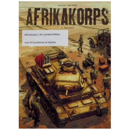 Afrikakorps 01 luxe HC Battleaxe (met display)