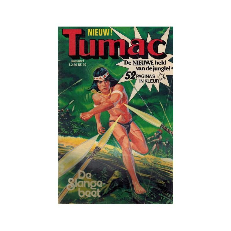Tumac set deel 1 t.m 6 1e drukken 1979