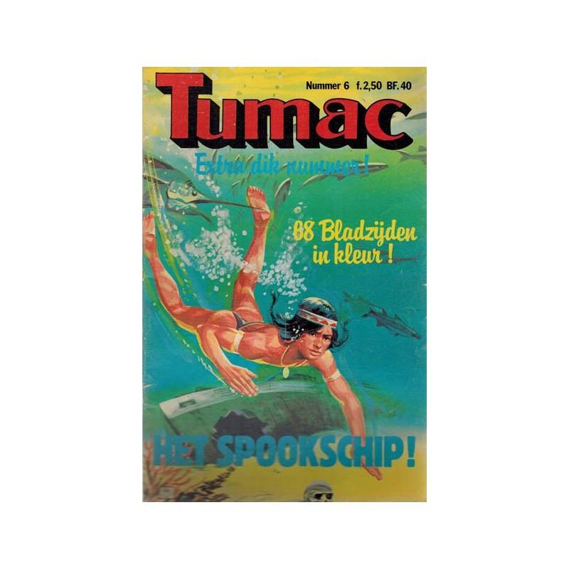 Tumac 06 Het spookschip 1e druk 1979