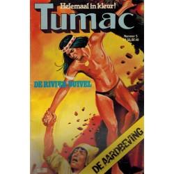Tumac 05 De rivier-duivel 1e druk 1979