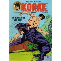 Korak zoon van Tarzan classics 143 De heilige stad van Tor 1e druk 1978