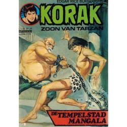 Korak zoon van Tarzan classics 118 De tempelstad Mangala 1e druk 1976