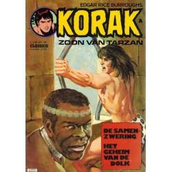 Korak zoon van Tarzan classics 114 De samenzwering 1e druk 1976