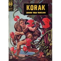 Korak zoon van Tarzan classics 004 De heilige boom 1e druk 1967