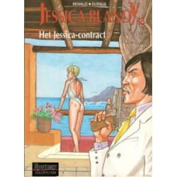 Jessica Blandy 18 Het Jessica-contract 1e druk 2000