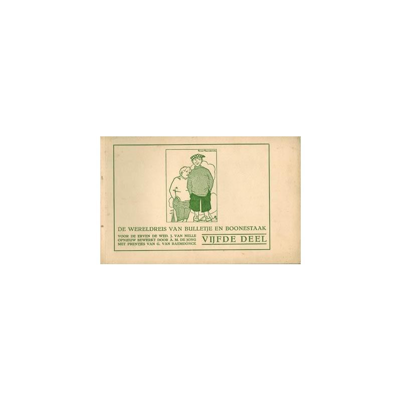 Wereldreis van Bulletje en Boonestaak 05 herdruk 1930