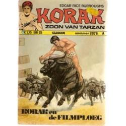 Korak zoon van Tarzan 076% En de Filmploeg 1e druk 1974
