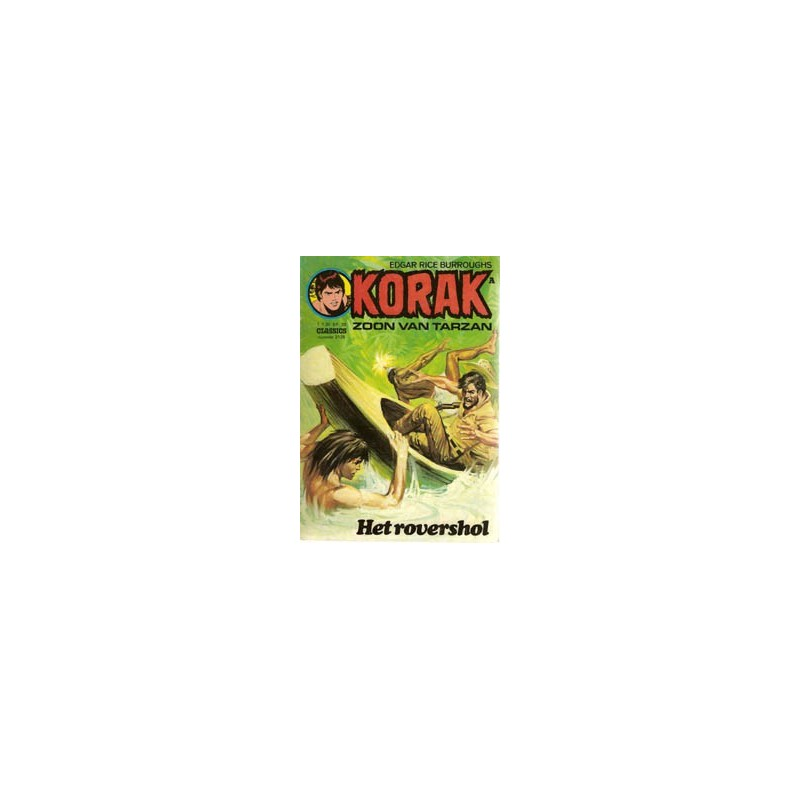 Korak zoon van Tarzan 128 Het rovershol 1e druk 1976