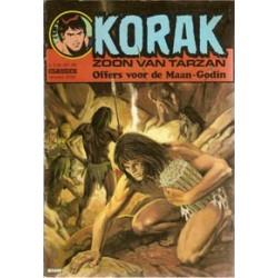 Korak zoon van Tarzan 124 Offers voor de maan-godin 1e druk 1976