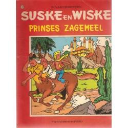 Suske & Wiske 129% Prinses Zagemeel 1e druk 1972