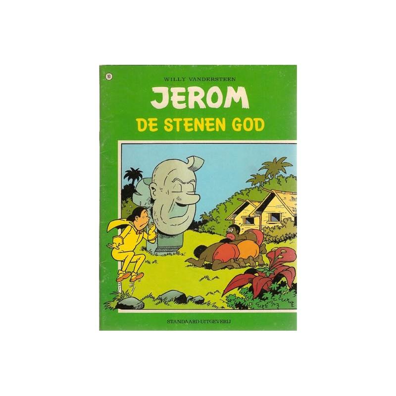 Jerom 090 De stenen god 1e druk 1981