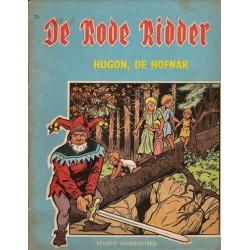 Rode Ridder blauw/bruin 023 Hugon, de hofnar 1e druk 1965