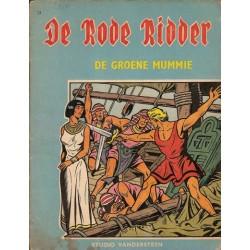 Rode Ridder blauw/bruin 031 De groene mummie 1e druk 1966