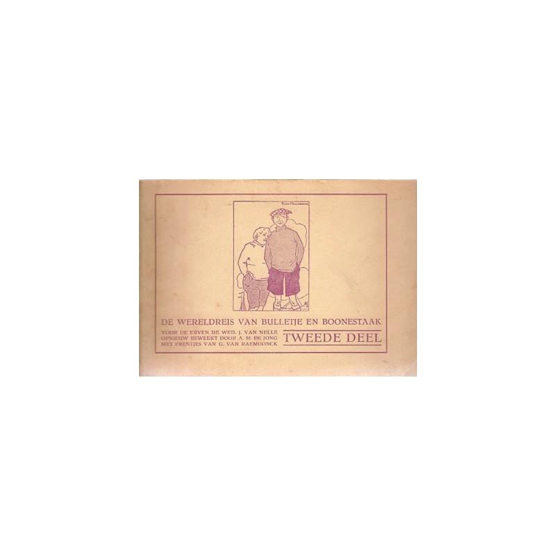 Wereldreis van Bulletje en Boonestaak 02 herdruk 1928