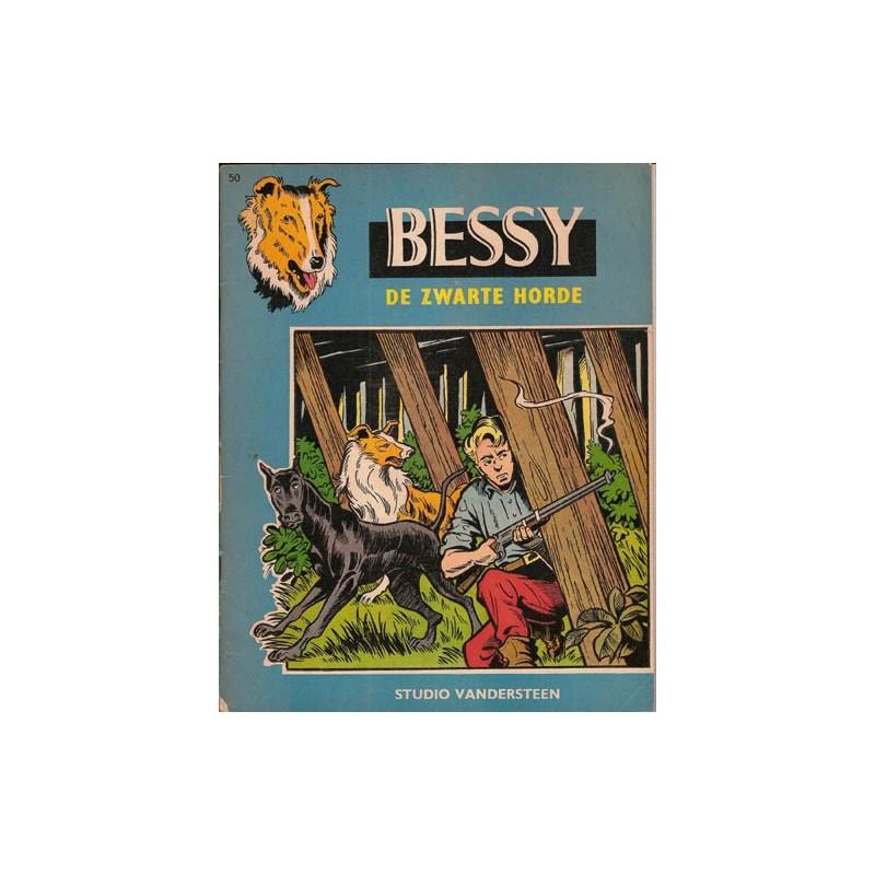 Bessy 050 De zwarte horde 1e druk 1964