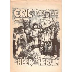 Eric de Noorman Panorama-bijlage De heer der Heruli 1e druk 1984