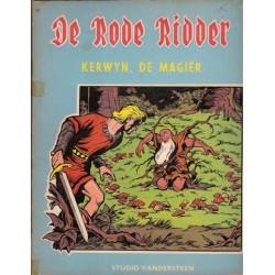 Rode Ridder blauw/bruin 020 Kerwyn, de magier 1e druk 1964