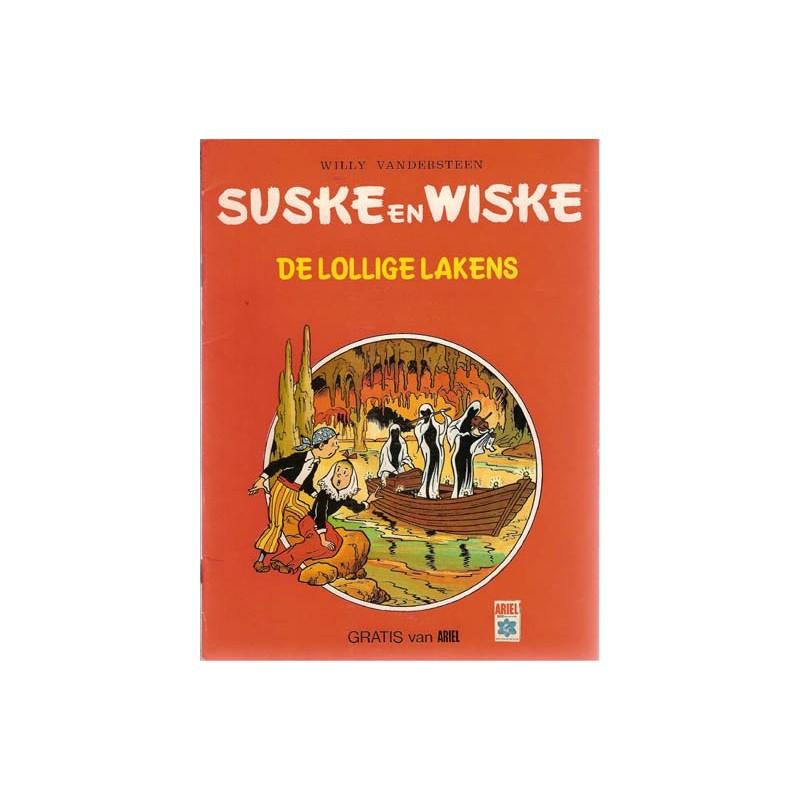 Suske & Wiske reclamealbum De lollige lakens 1e druk 1982  (Ariel)