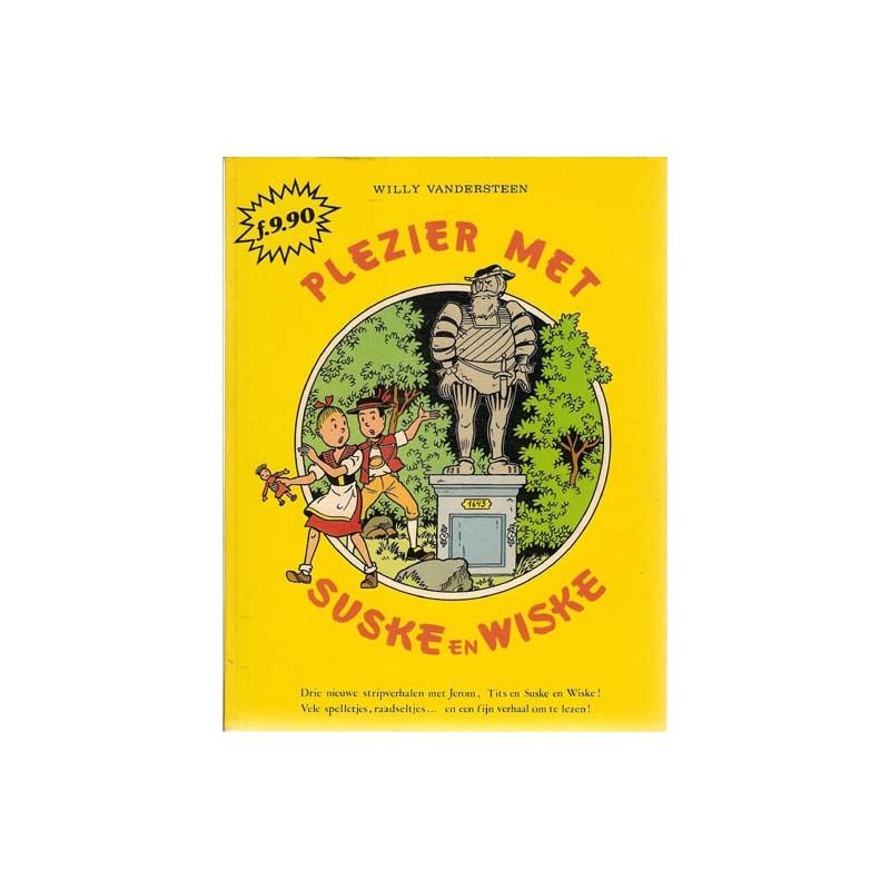 Suske & Wiske Plezier met Suske en Wiske 1 NL 1e druk 1981 (met prijsopdruk voorblad)