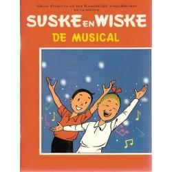 Suske & Wiske De musical NL 1e druk 1994 (zonder naamsvermelding Willy Vandersteen voorblad)