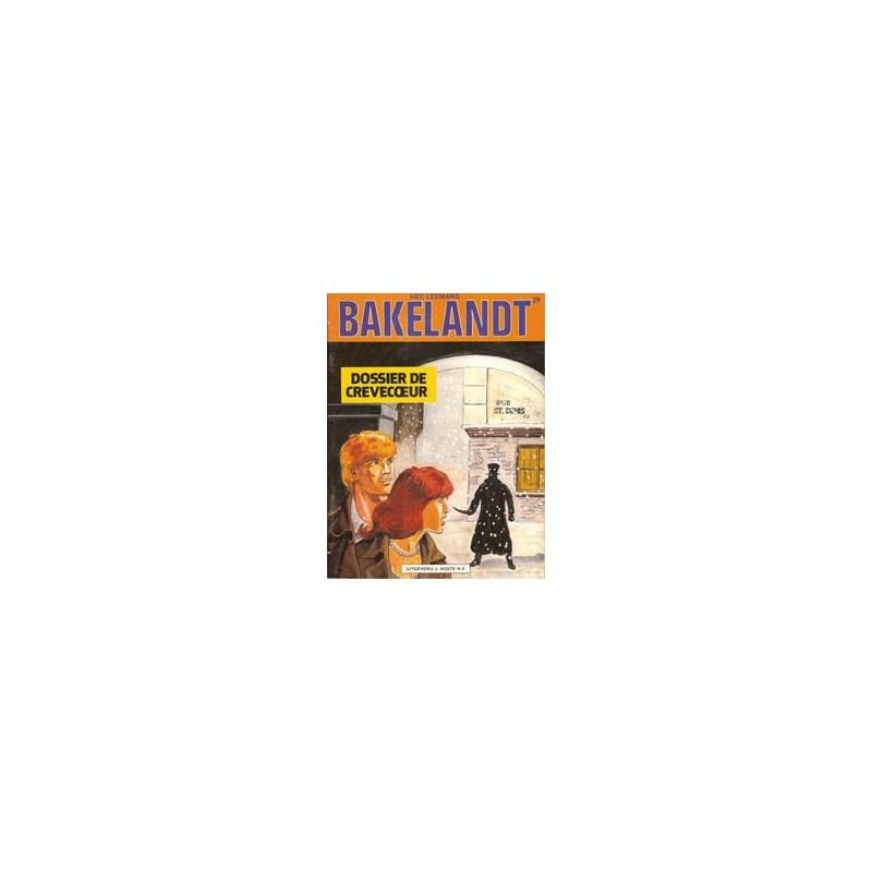 Bakelandt 29 Dossier de Crevecoeur 1e druk 1985