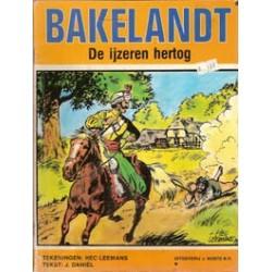 Bakelandt 04% De ijzeren hertog 1e druk 1979