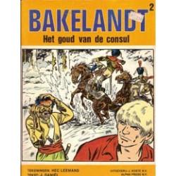 Bakelandt 02 Het goud van de consul 1e druk 1978