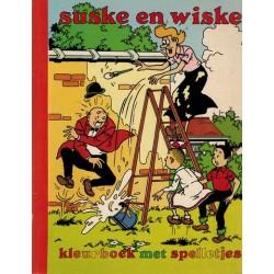 Suske & Wiske Kleurboek met spelletjes 1e druk 1989