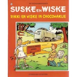 Suske & Wiske 154 Rikkie en Wiske in Chocowakije 1e druk 1975